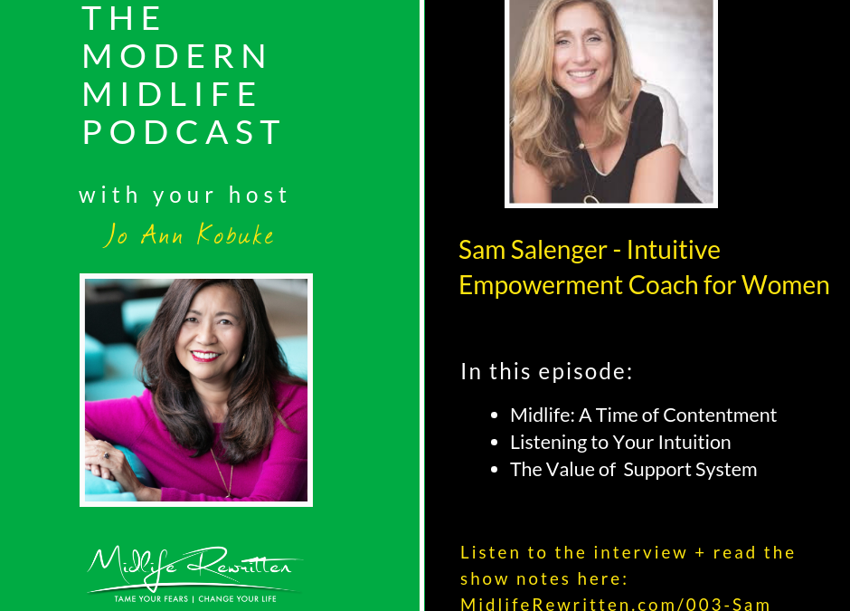 003 Sam Salenger – Intuition and Coaching for Midlife Women
