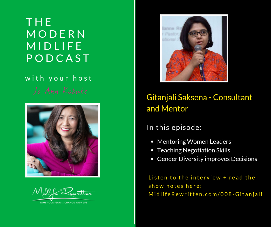 008 Gita Saksena – Mentoring Women Leaders