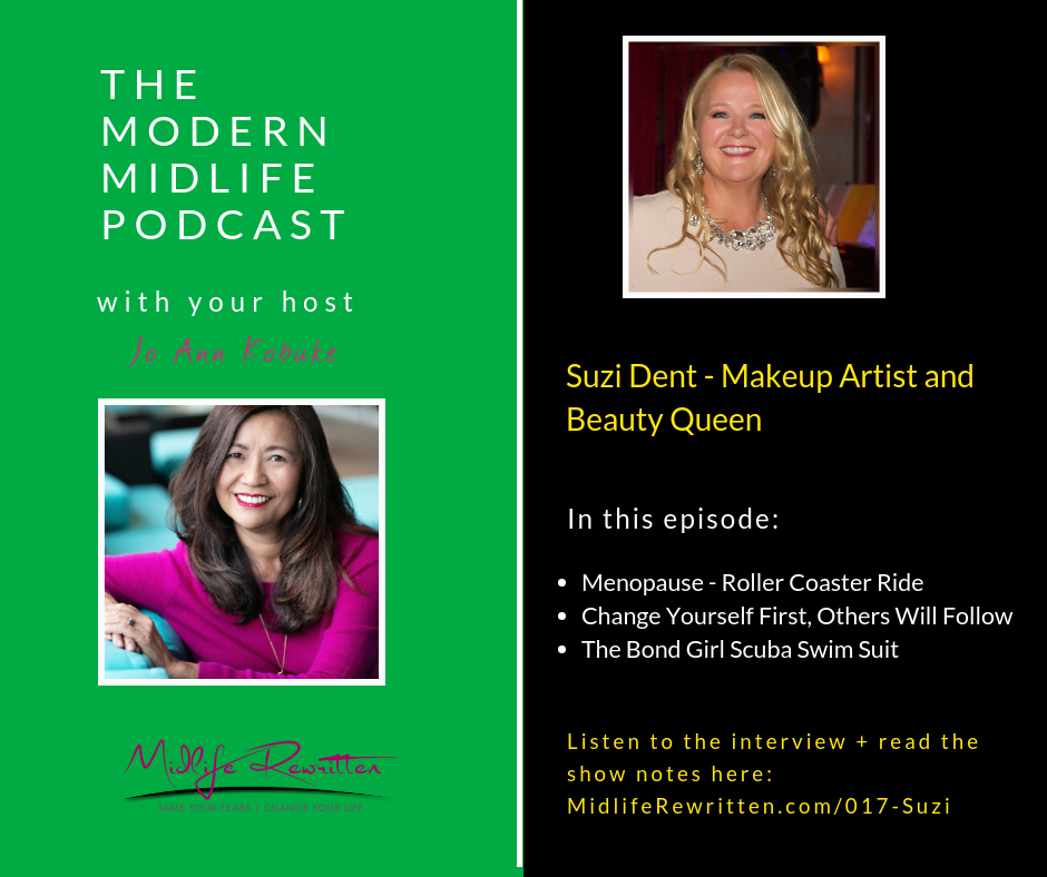 017 Suzi Dent – From Makeup Artist to Beauty Queen at 55